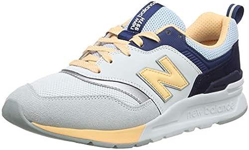 New Damen Weiß Turnschuhe, 997H Balance 97282jjac42150 Neue