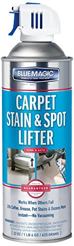 Blue Magic 900-06PK Carpet Stain and Spot Lifter - 22 fl. oz, (Pack of 6)