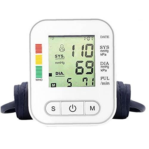 AtheMeet Dispositivo de Prueba de presión Arterial automático Dispositivo Máquina de la Parte Superior del Brazo Digital BP