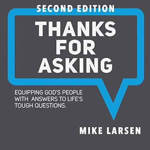 Thanks for Asking audiobook cover art