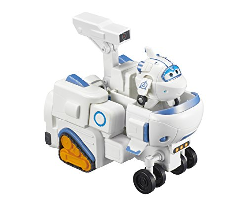 Super Wings - – Astra'S Robo Rover | Transforming Toy Vehicle Set | Includes Transform-A-Bot Astra Figure | 2' Scale
