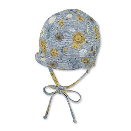 Sterntaler Baby-Jungen 1602101 Schirmmütze, gelb, 43