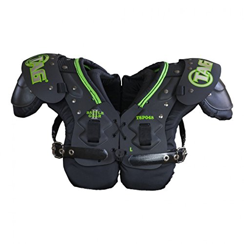 TAG Battle Gear II Youth Football Shoulder Pad TSP48 (Buckle Side Strap) 2X-Small