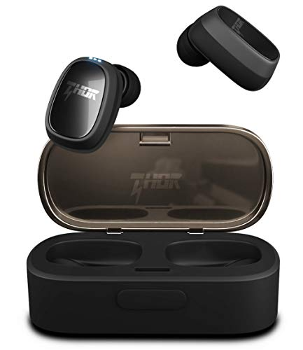 Wireless Earbuds, Thor True Wireless Bluetooth Earbuds, Sports Wireless Earbuds, Sweat Proof Earphones with Built-in Microphone. Deep Bass Sound