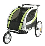 TIGGO World Kids Bike Trailer Bike Trailer Jogger 2in1 Trailer Kids Trailer JBT03N-D02 902-D02