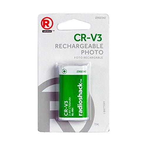 Radio Shack CR-V3 2.4V 1700mAH Rechargeable NI-MH hHoto Battery