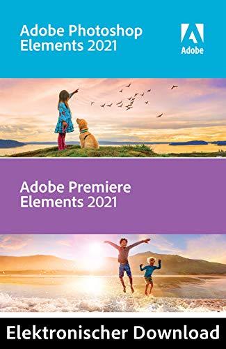 Adobe Photoshop & Premiere Elements 2021 | 1 Benutzer | PC | PC Aktivierungscode per Email