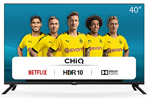 CHiQ Televisor Smart TV LED 40', Resolución FHD, HDR...