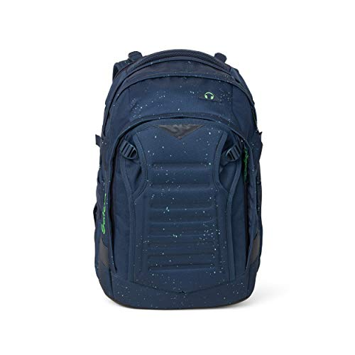 SATCH Space Race Kinder-Rucksack, 45 cm, 30 Liter, Blue Green Speckled