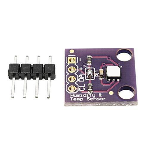 1 Stück Gy-213V-Si7021 Hochpräziser Temperatur- und Feuchtigkeitssensor Feuchtigkeits-Temperaturmodul-Sensor - Lila