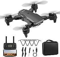 Lilon K2 dron GPS 5G / 2,4G Wi-Fi wyposażony w szerokokątny podwójny aparat HD 4K, FPV profesjonalny dron transmisja w...