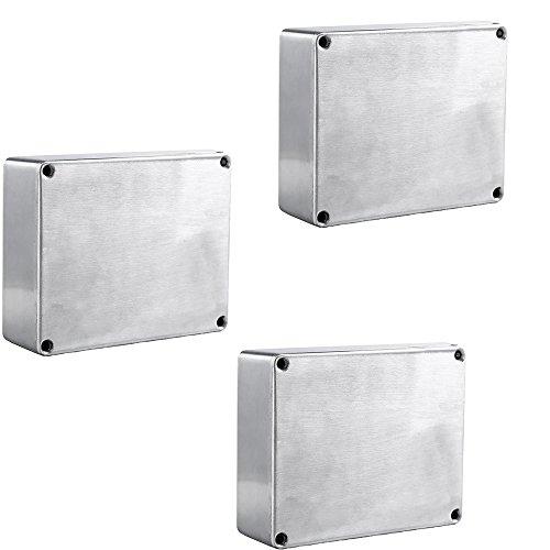 Mintice 3 X Pro 1590BB Stijl 119x94x30mm Aluminium Metalen Stomp Box Case Behuizing Gitaar Effect Pedaal