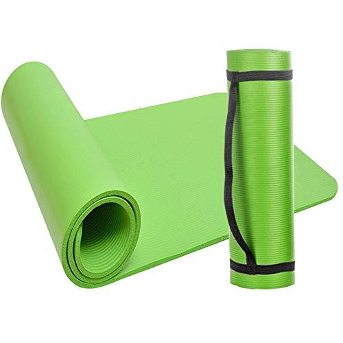 N\C La Esterilla de Yoga está Hecha de Material de Caucho de nitrilo Adecuado para estiramientos, Entrenamiento de Fuerza, Yoga y Entrenamiento de rehabilitación en el Gimnasio o en casa.