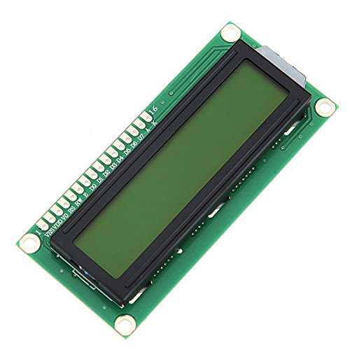 JCCOZ-URG 5Pcs Yellow Backlight 1602 Character LCD Display Module for Arduino URG