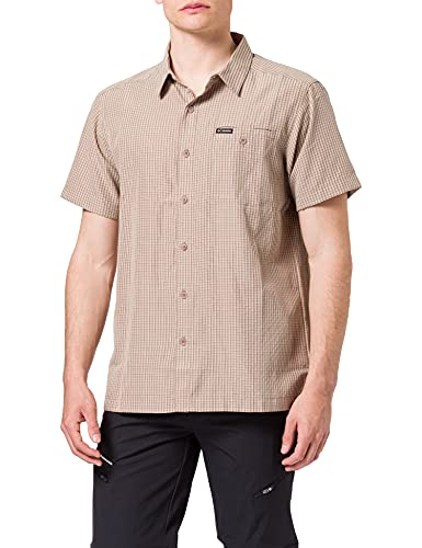 Columbia Lakeside Trail II, Camicia A Maniche Corte Uomo, Mocha Window Plaid, S