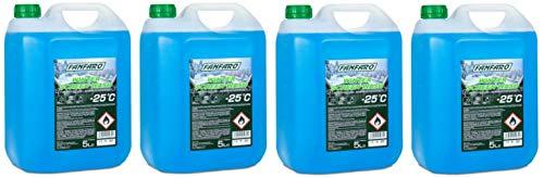 FANFARO Screenwash – 25C All Seasons Winter, 20 litros