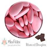 reves et dragees 1Kg Dragées Chocolat Rose-