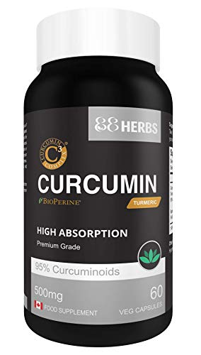Curcumin C3 Complex + Bioperina - Extracto de Cúrcuma de Calidad Premium...