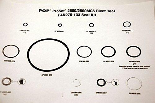 FAN275-133, POP, PROSET 2500/2500MCS SEAL KIT, , PACK OF 1