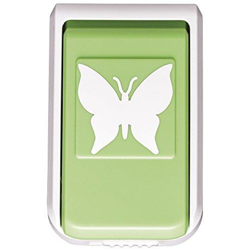 Stanzer, Schmetterling, Motivgröße: 4,3cm | Motiv-Locher für Papier | Geschenkanhänger, Baumschmuck, Plaketten & Aufleger basteln | Sommer, Frühling