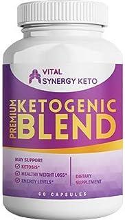 Vital Synergy Keto - Premium Ketogenic Blend - Supplements for Women & Men - Appetite Suppressant