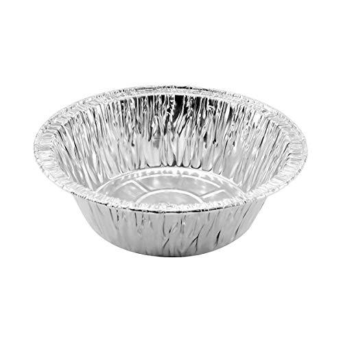 Disposable Aluminum 5 3/4 Extra Deep Meat/Pot Pie Pan #2400 (100)