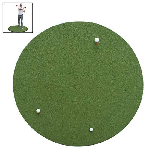 qazxsw Tapis de Golf Pads de Golf Golf Pads intérieurs et extérieurs Épaissis Ronde Golf intérieur et extérieur Swing Trainer Golf