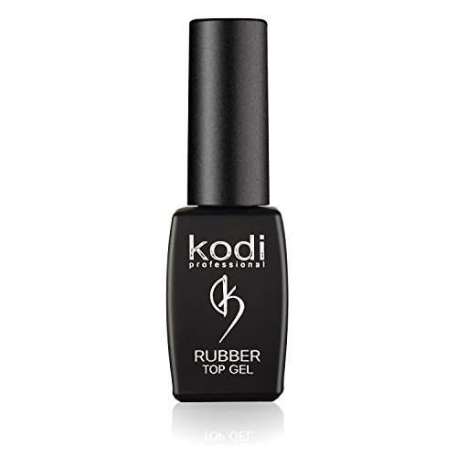 Professional Rubber Top Gel Set By Kodi | 8ml 0.27 oz | Soak Off, Polish Fingernails Coat Kit | For Long Lasting Nails Layer | Easy To Use, Non-Toxic & Scentless | Cure Under LED Or UV Lamp