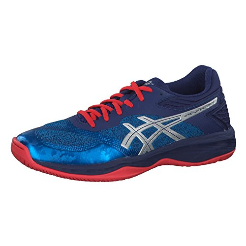 Asics Netburner Ballistic FF Hombre Trainers 1051A002 Sneakers Zapatos (UK 13 US 14 EU 49, Race Blue Silver 400)