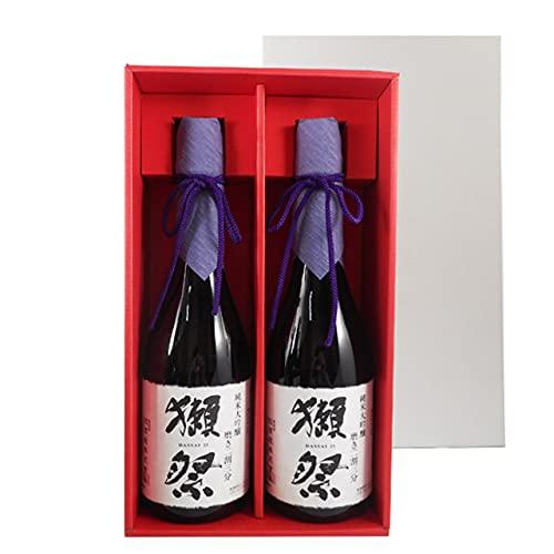 獺祭 純米大吟醸 磨き23 720ml 2本 獺祭専用紅白ギフトボックス 山口県 旭酒造 日本酒