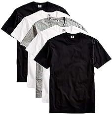 Kit com 5 Camisetas Masculina Basica Algodao Premium