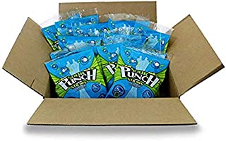 Sour Punch Straws, 4.5oz Bag (12 Pack), Blue Raspberry Fruit Flavored Soft & Chewy Candy