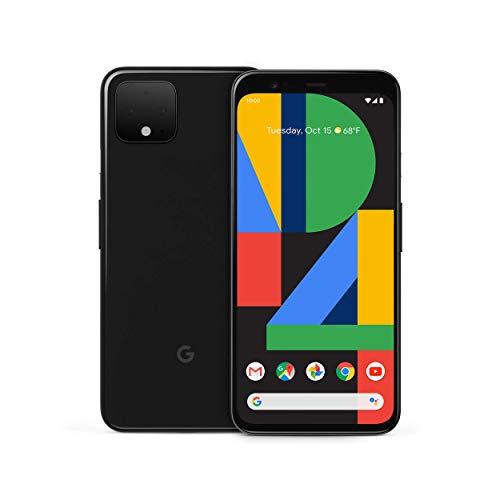 Google Pixel 4 - Just Black - 128GB - Unlocked (Renewed)
