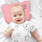 BEARPROTECT Baby Kissen gegen Plattkopf von BEARTOP   orthopädisches Lagerungskopfkissen   Memory Foam   Baby Geschenk   2 Bezügen   Kinderwagen   Zufriedenheitsgarantie (3 Jahre)*