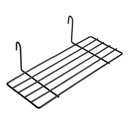 Wand-Dekoration-Eisen-Rahmen-hängenden Zahnstangen-Wand-Anzeigen-Aufbewahrungsbehälter-Multifunktionsmaschen-Draht-Metallwand-Regal