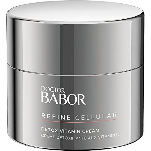 DOCTOR BABOR Detox Vitamin Cream, Antioxidative Gesichtscreme, gegen Umweltbelastungen, bei müder Haut, vegan, 50ml