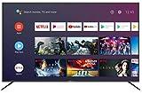 Smart-Tech SMT65A8PUC2M1B1 164cm (65 Zoll) LED Fernseher Smart TV (4K UHD, Android 9.0, Google Assistant, Google Play, Prime Video, Netflix, Chromecast) Schwarz