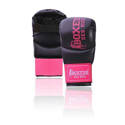 Boxeur Des Rues BXT-5141 Guantes de Karate y Fit-Box, Unisex Adulto, Rosa (Fucsia Pink), S