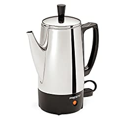 commercial Presto02822 Stainless steel coffee maker 6 cups target coffee pot
