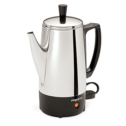 Presto 6-Cup Stainless-Steel Coffee Percolator