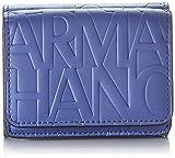 Armani ExchangeMini WalletMujerCarterasAzul (Denim/Denim) 4x9.5x8 Centimeters (B x H x T)