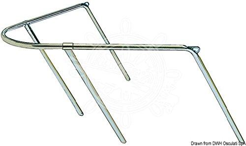 Osculati VA-Stahl Bugkorb 80x90x45 cm