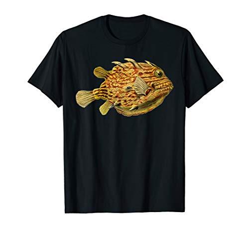 Fisch Natur Ozean Aquaristik Meeresbiologie Kofferfische T-Shirt