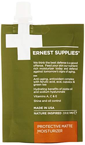 Ernest Supplies Protective Matte Moisturizer, 2.5 Fl Oz