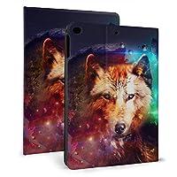 Ipad Mini5 ケース 2019 第五世代 モデル カバー Wolf-4 超薄型 超軽量 Puレザー スマートカバー 傷防止 耐衝撃 Tpu 保護 キズ防止 指紋防止 7.9インチタブレット用