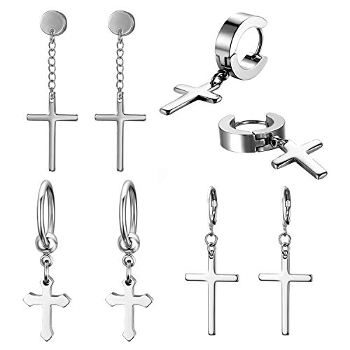 Pendientes Cruz  marca JewelryWe