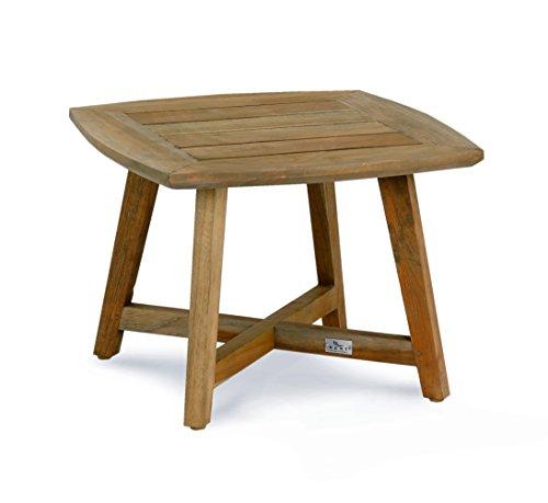 Best Freizeitmöbel Best Paterna 50x50 cm Beistelltisch, teakholz, 50 x 50 x 42 cm