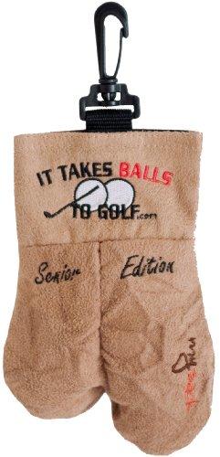 MySack Senior Edition Golf Ball Storage Bag Gag Gift
