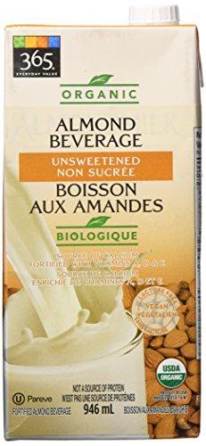 365 by Whole Foods Market, Organic Shelf-Stable Almondmilk, Unsweetened - Original, 32 Fl Oz