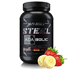 OUR PREMIER PRODUCT: Formulated by STEEL founder Jason Huh, our innovative ADA2BOLIC supplement powder is the Pre, Intra & Post workout formula that's a must-have recovery aid for any fitness enthusiasts seeking increased performance and recovery. Ge...
